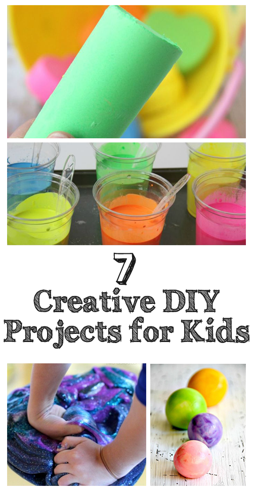 Top 7 Creative DIY projects for Kids (Nifty DIYs) Diy