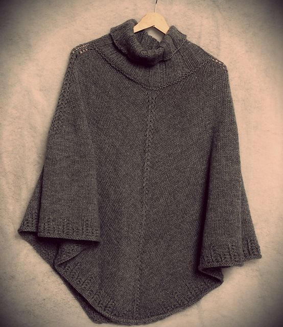 Beginner Knitting Poncho : Free autumn knitting patterns to inspire you beginner