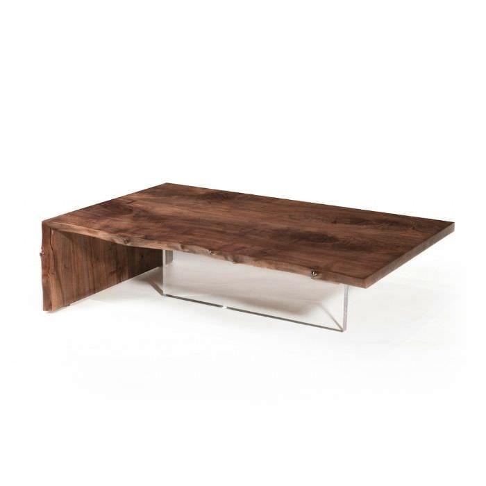 Cool Moderner Couchtisch Plexiglas Nussbaum Rechteckig Plexi Hudson  Furniture With Plexiglas Tisch