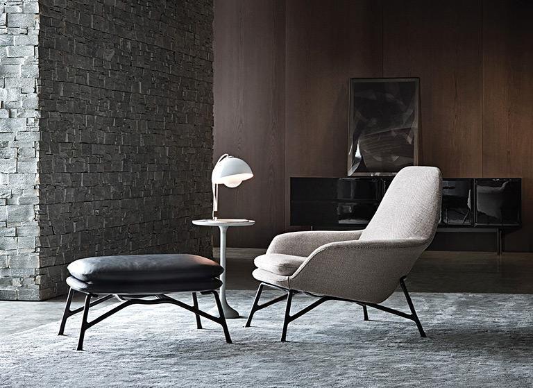 retro sessel sch ne modelle nobel prince von minotti wohnzimmer pinterest neuheiten. Black Bedroom Furniture Sets. Home Design Ideas