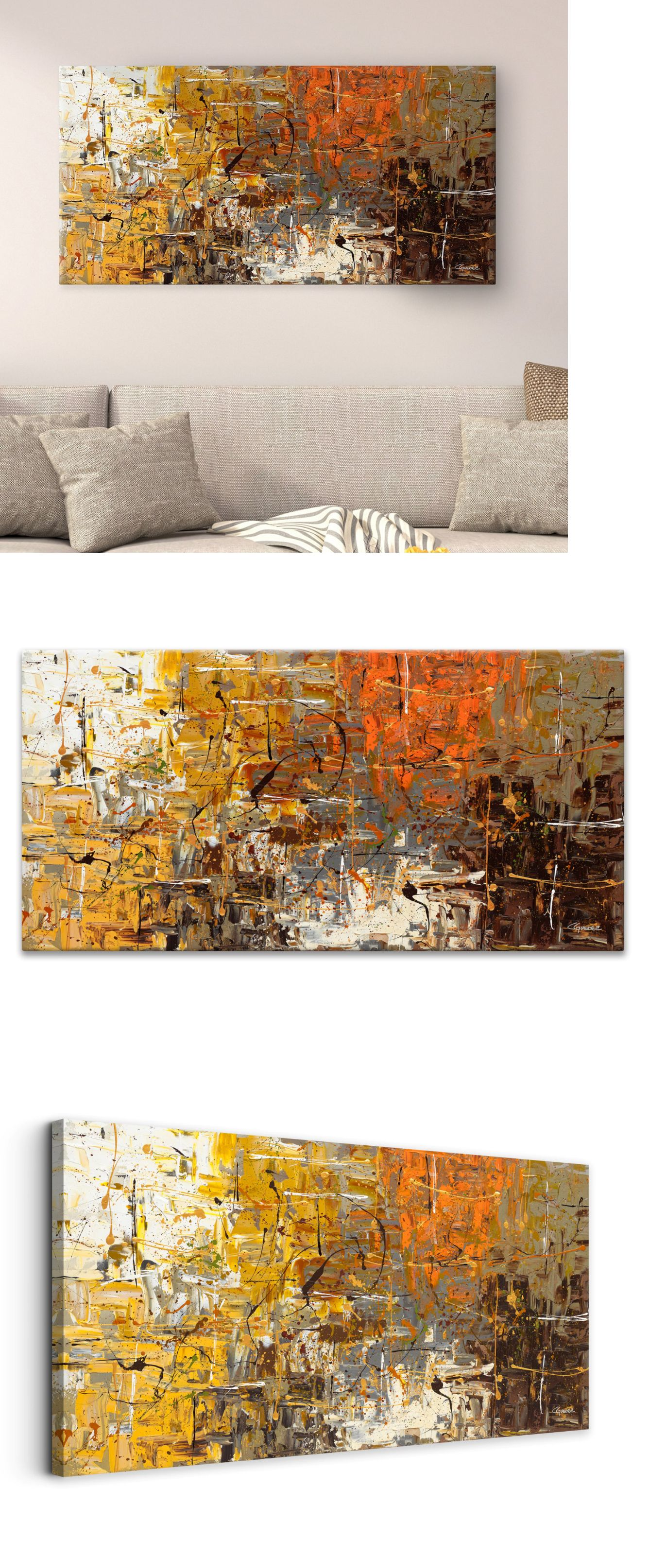 Posters and prints large canvas modern abstract wall art