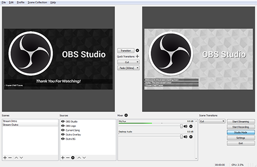 Open Broadcaster Software Home Software Open Source Programs Teacher Learner