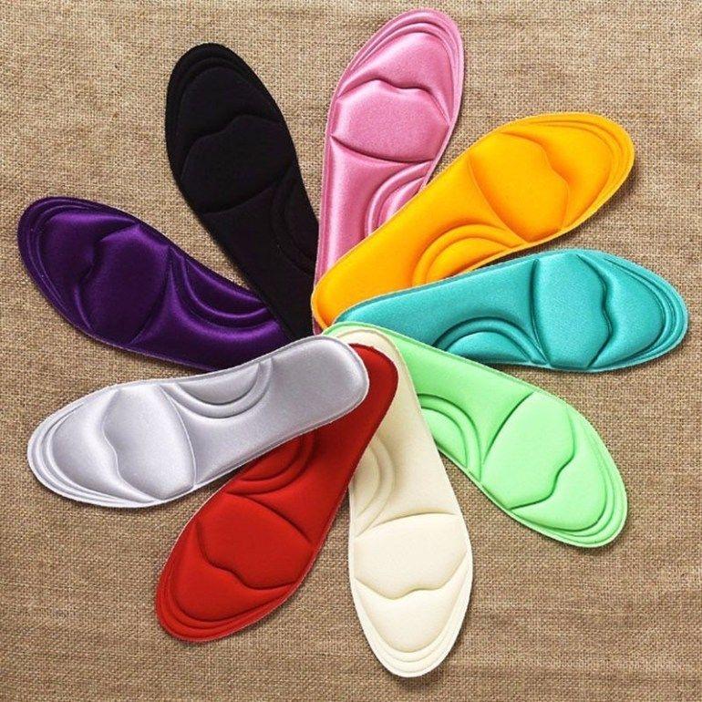 1 Pair New Unisex Memory Foam Custom Massage Shoe Insoles Trainer Foot Care Casual Shoes Women Shoe Insoles Foot Massage