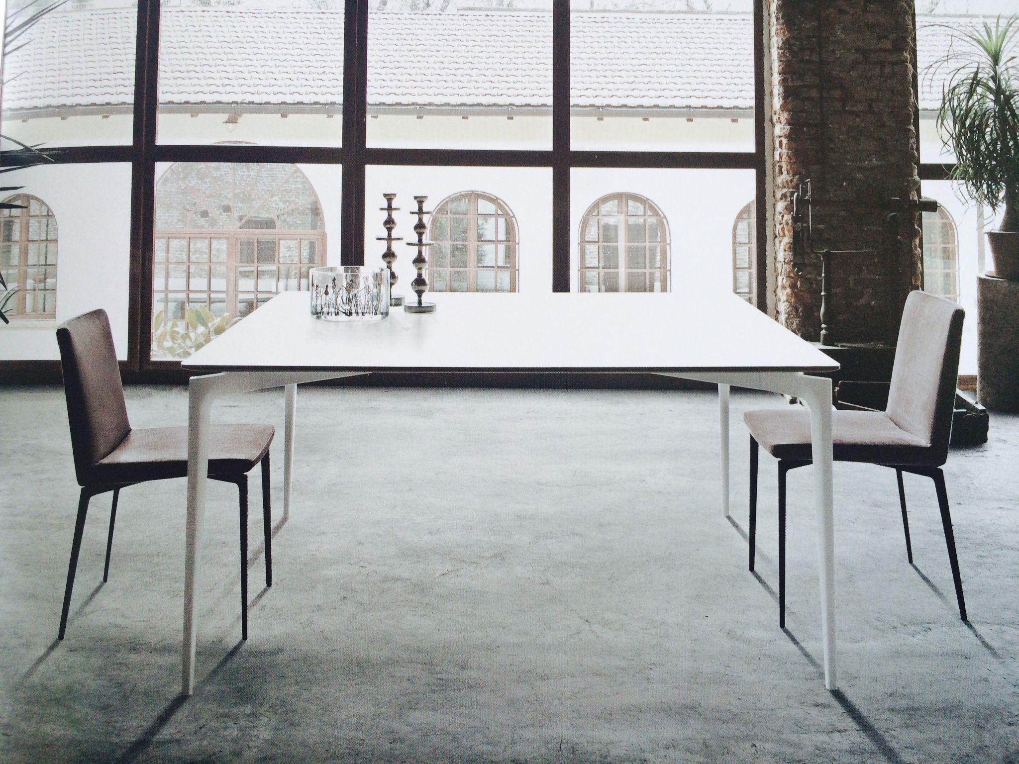 Tavolo Liuto sedia Flexa design Giuseppe Bavuso by ALIVAR Q cm 150x150 R diam