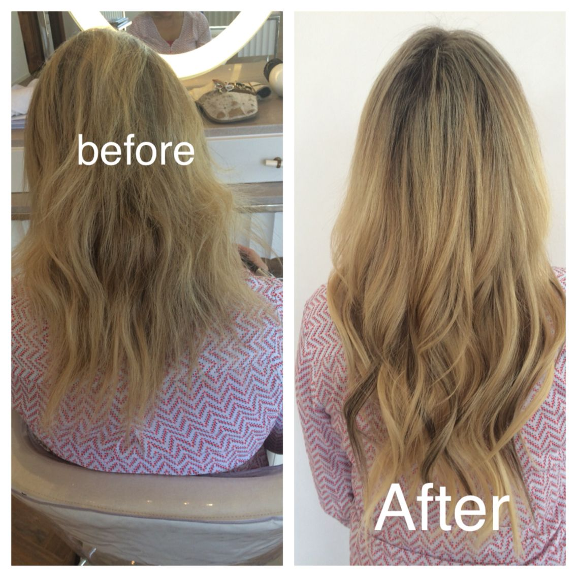 Natural Beaded Row Hair Extensions And Melted Balayage By Amber