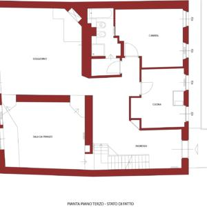 Casa su due piani: progetto & ristrutturazione totale ...