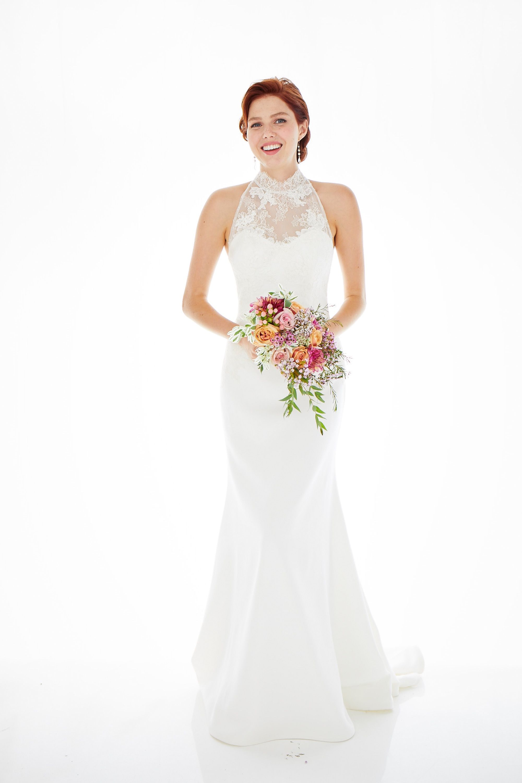 Portia Wedding Dress Aurora Borealis Collection Lea Ann Belter