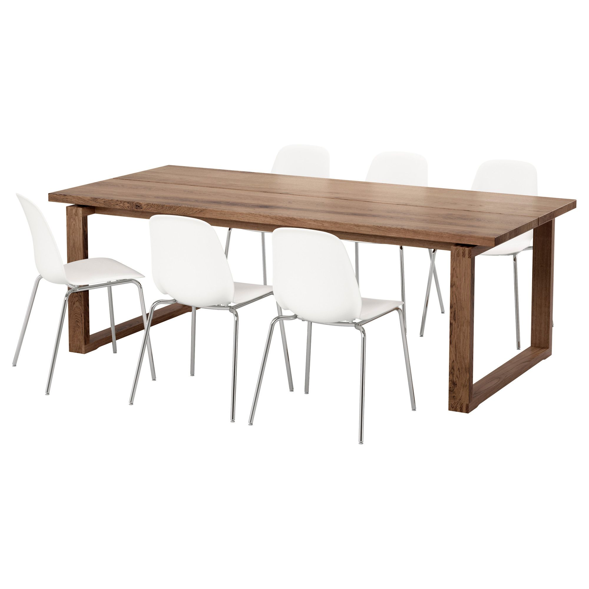 M rbyl nga leifarne table and 6 chairs ikea my for Table 6 chaises ikea