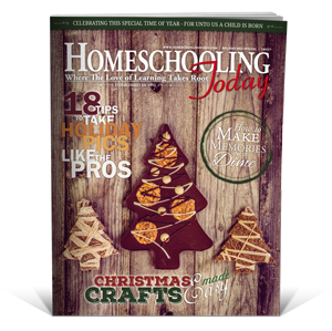 Homeschooling Today Magazine is perfect year-round encouragement for homeschool moms and a great Christmas gift!