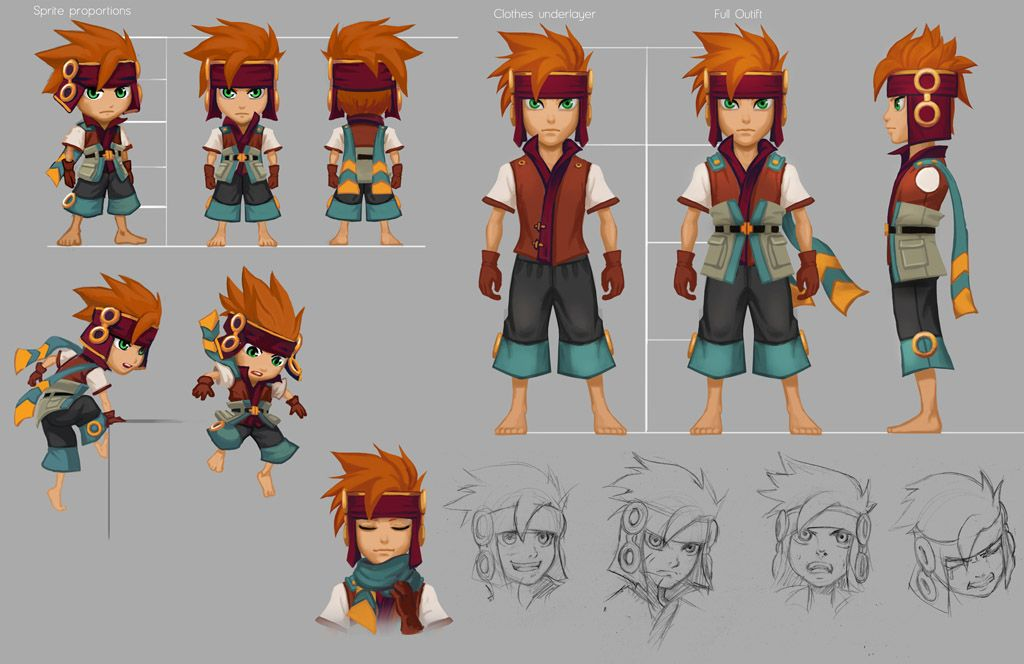 Anime Character 2d : Freedom fall marsh character sheet by risachantag on