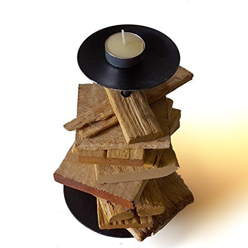 "9"" Upcycled Distressed Tealight and Candle Holder Made from Wood Chips roro http://www.amazon.com/dp/B00ZN0JUMG/ref=cm_sw_r_pi_dp_SAbqwb1N70Y6F"