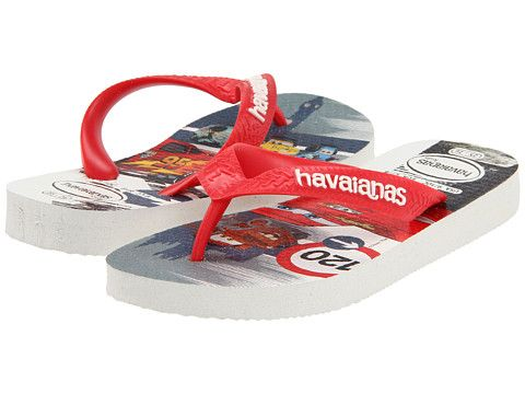 Havaianas Kids Cars Disney Flip Flop (Toddler/Youth)