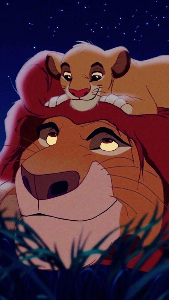 Simba y Mufasa.❤️ discovered by Sofi Valencia