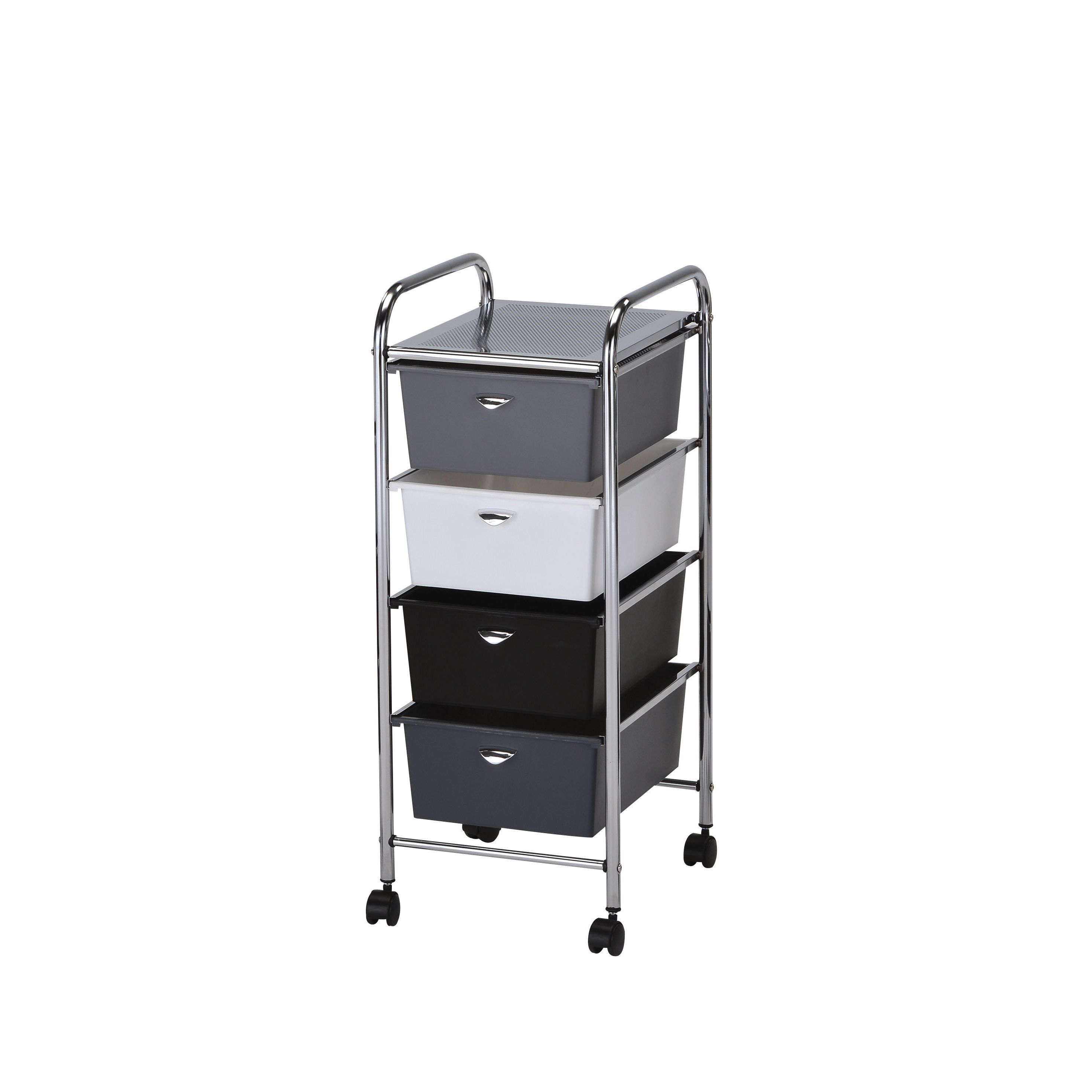 small cart drawers furniture plastic sterilite trolley drawer rolling with bin storage shallow pink