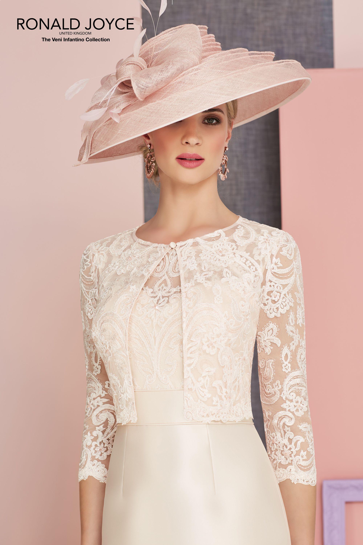 Ronald joyce dress u jacket colour rose wedding in