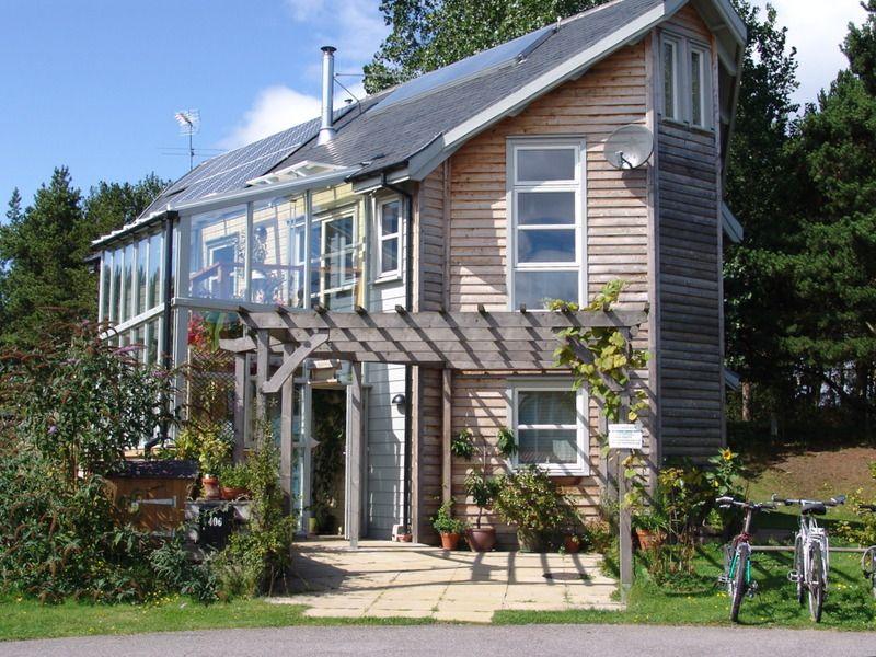 Maison bois solaire passive france serre recherche google