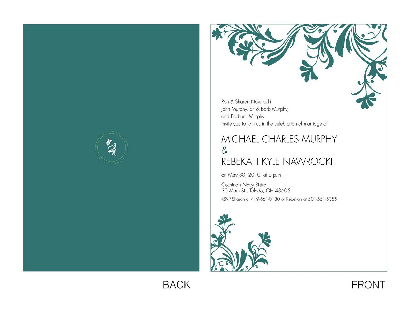 Collection of Free Online Bridal Shower Invitation from all over the ...
