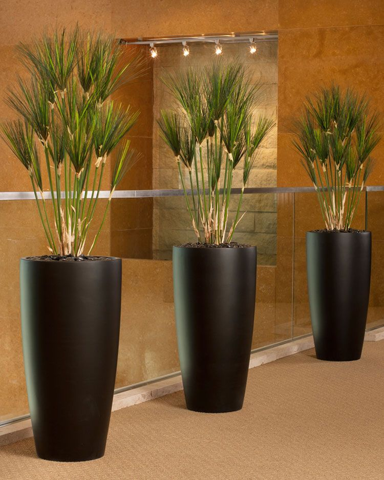 Office Decorating Made Easy With Silk Plants Realistic Papyrus Floor Searchforartificialplantslivingroomfurniture
