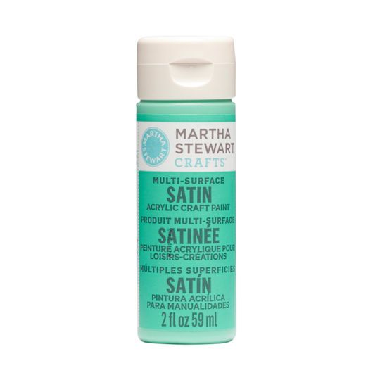 Martha Stewart Crafts® Multi-Surface Satin Acrylic Craft Paint, 2oz.