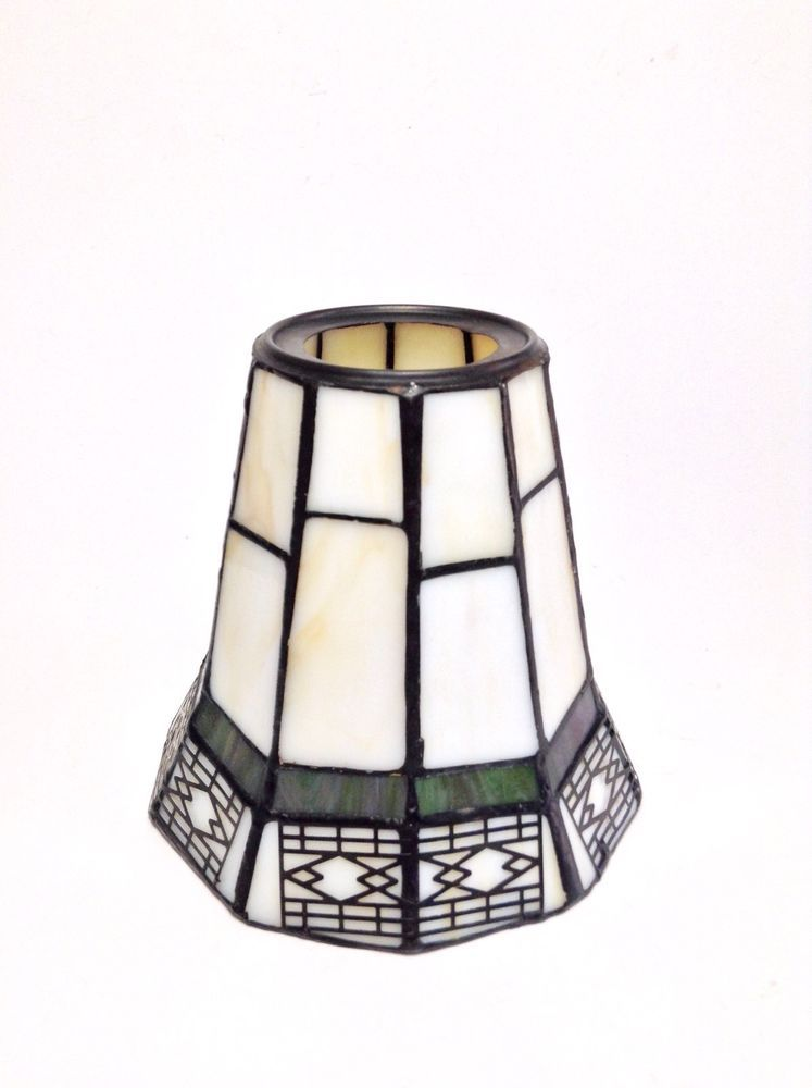 Stained glass mini lamp shade slag spectrum tiffany mission style stained glass mini lamp shade slag spectrum tiffany mission style 475 candle mozeypictures Image collections