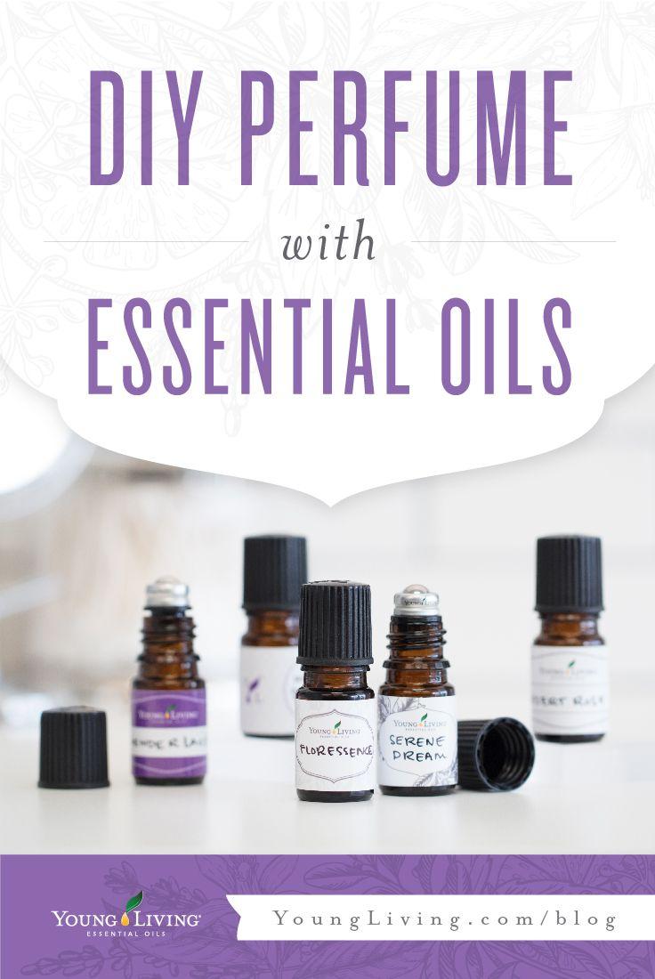 DIY Perfume with Essential Oils | DIYs | Essential oil