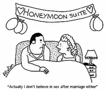 Help with no sex in marriage