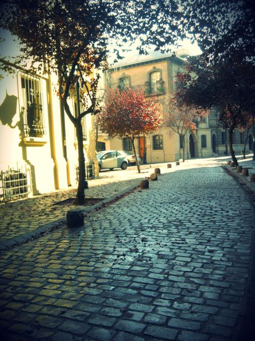 barrio paris y londres ; santiago de chile
