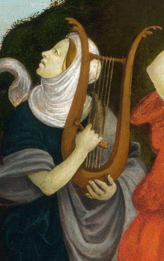 Follower of Filippino Lippi - The Worship of the Egyptian Bull God, Apis