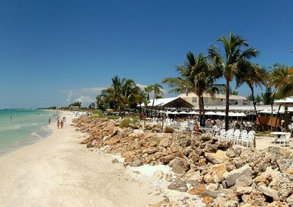 The Beachhouse Restaurant Is Located On South End Of Anna Maria Island Just West