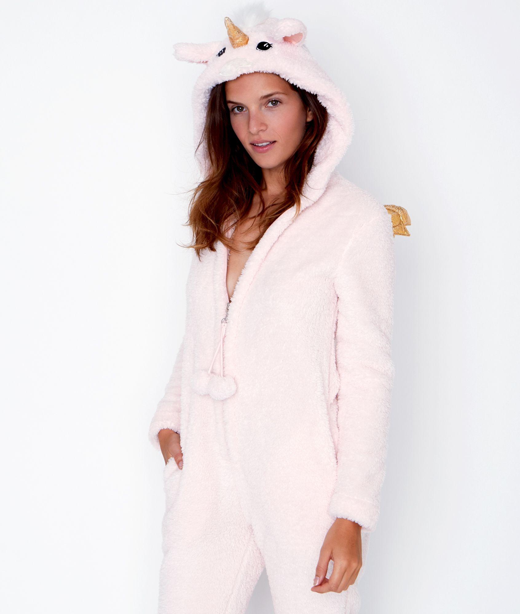 super quality detailed look wholesale price Combinaison Licorne, toucher polaire - LICORNE - ROSE - Etam ...