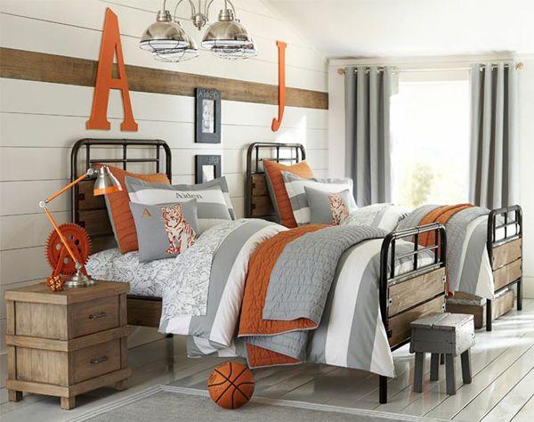 20 Sporty Bedroom Ideas With Basketball Theme Boys Room Decor