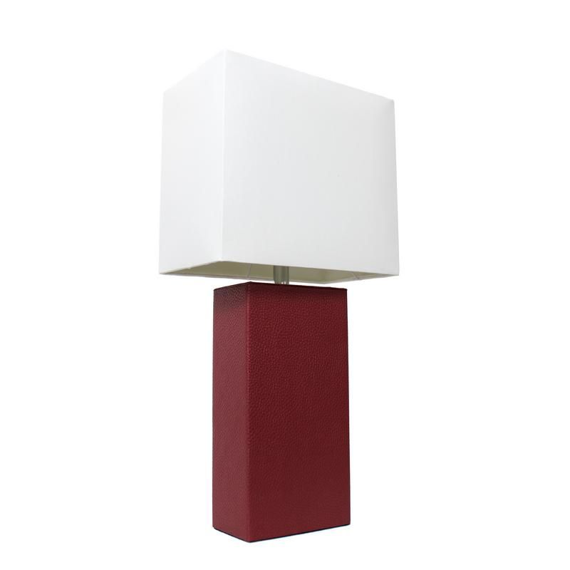 Home In 2020 Red Table Lamp Fabric Shades Table Lamp