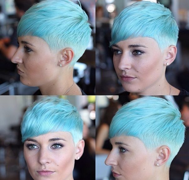 The+most+beautiful+coloured+short+haircuts+of+2015
