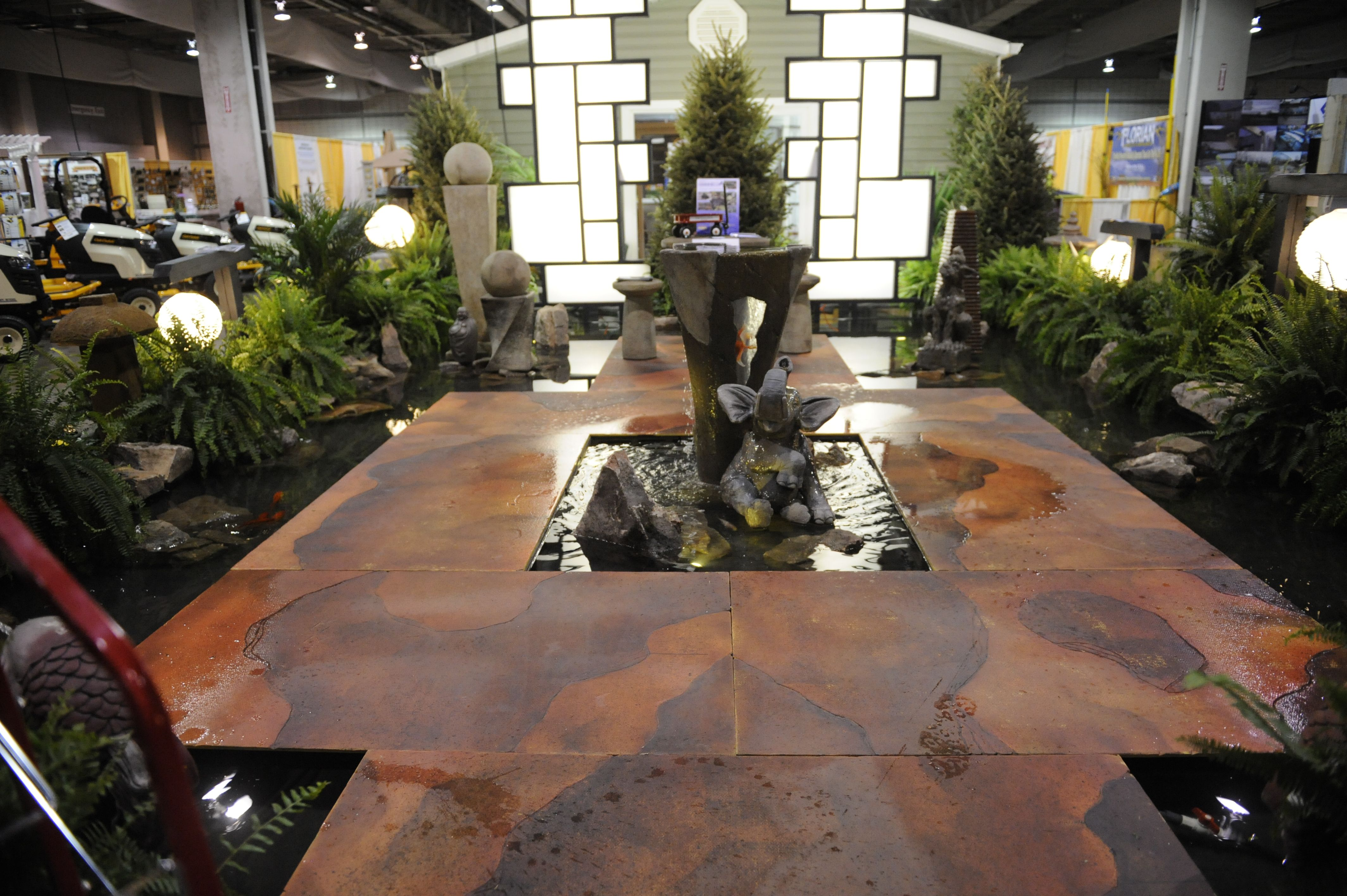 Water garden feature from the Pittsburgh Home and Garden Show 2012 ...
