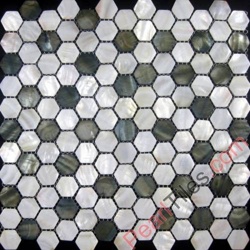 Grey Shell White Shell Mixed Mother Of Pearl Mosaic Tiles Mixed Mop Tiles Shell Tiles Pearl Tile Shell Mosaic Tile Mosaic Bathroom Tile
