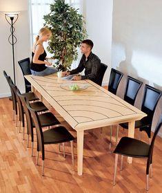 esstisch wohnzimmer selbst bauen esstische und tisch. Black Bedroom Furniture Sets. Home Design Ideas
