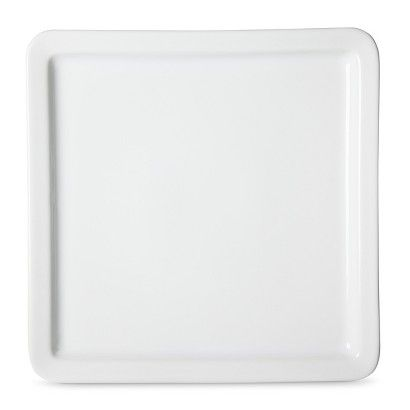 Threshold™ Casual Modern Square Dinner Plate Set of 4 - White  sc 1 st  Pinterest & Threshold™ Casual Modern Square Dinner Plate Set of 4 - White ...