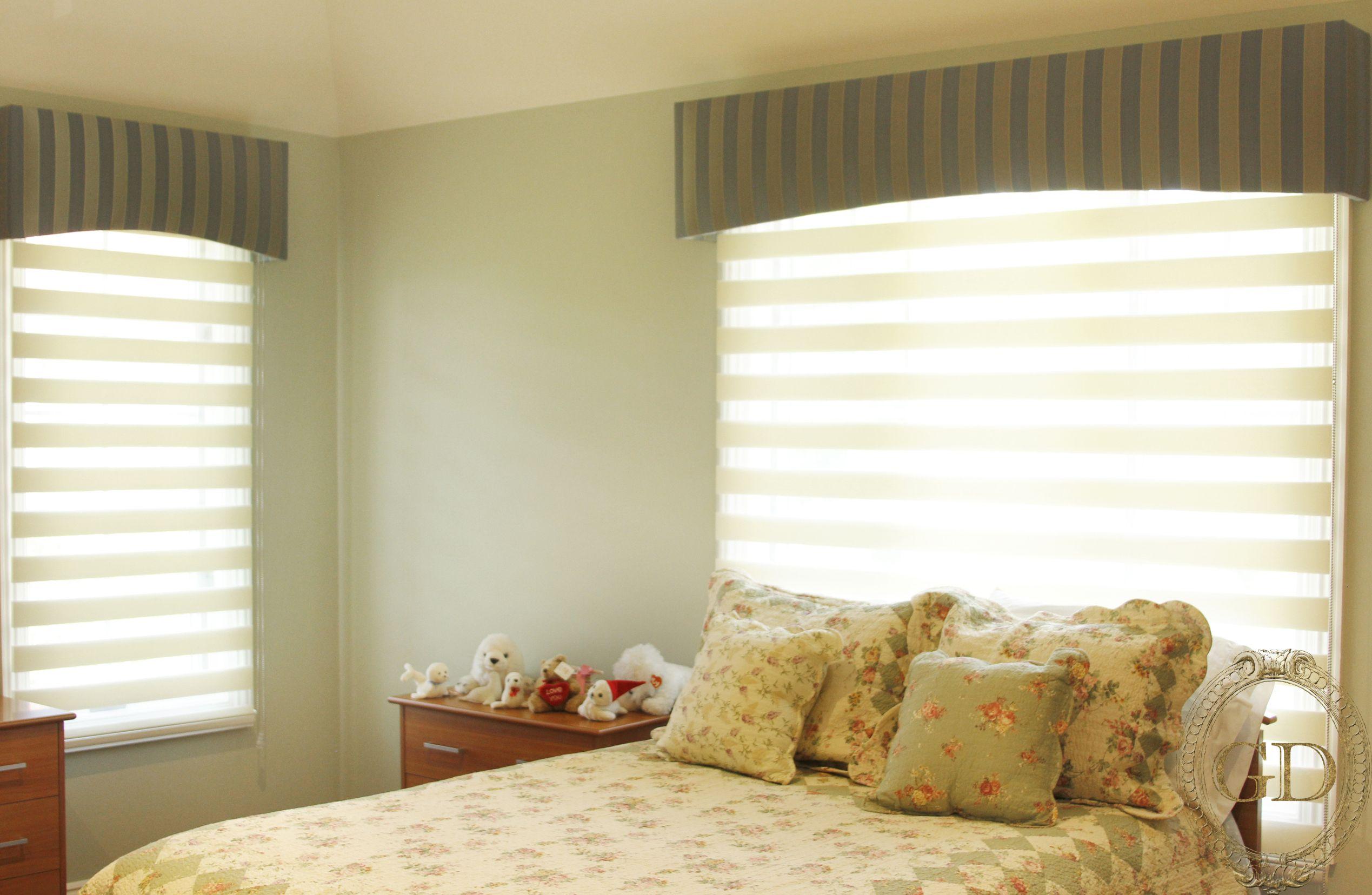 4 window curtain ideas  hasheem cornice   bedroom drapery  pinterest  drapery ideas