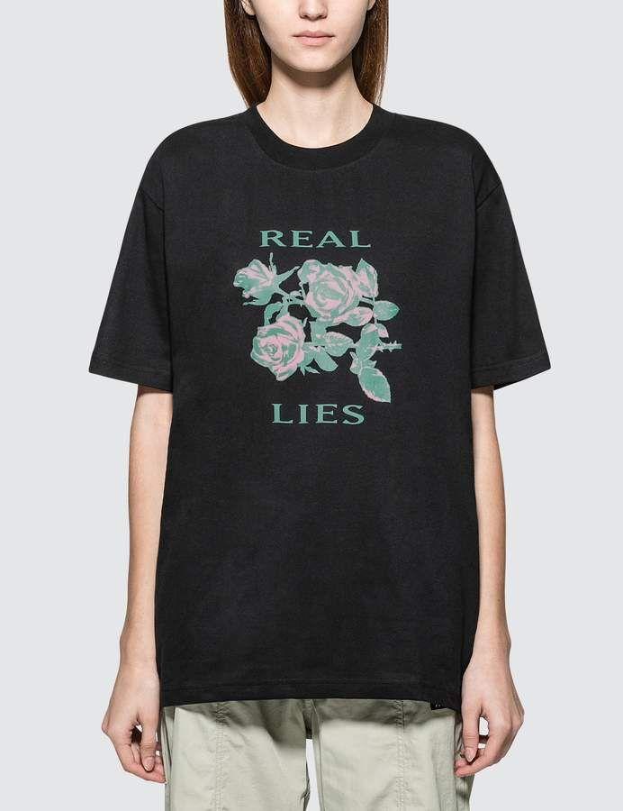 cd44fb24c Real Lies Short Sleeve T-shirt | Products | Shirts, T shirt, T ...