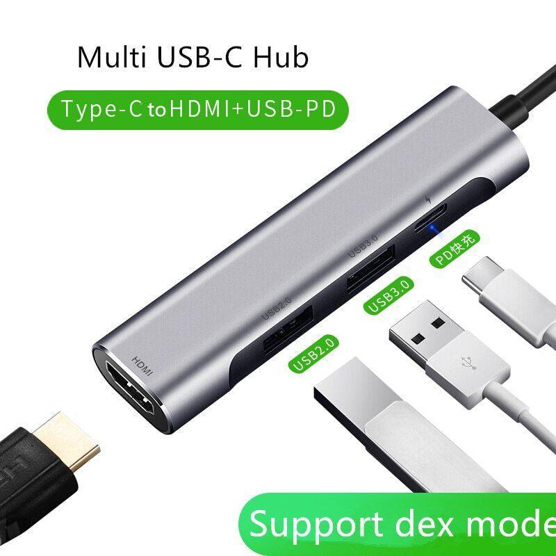 Thunderbolt 3 Usb C Hub For Samsung Dex Type C To Hdmi Pd Usb 3 0 2 0 Adapter 4k 2k 60hz Dock For Macbook Samsung Switch Mi Hdmi Usb Samsung