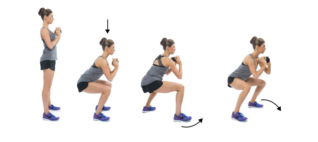 Image result for Walking Squats