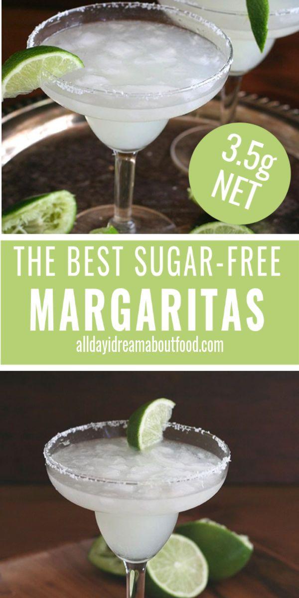 Keto Skinny Margaritas