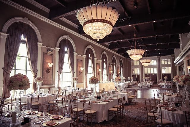 Liberty Grand In Toronto Sets A Gorgeous Scene For A Wedding