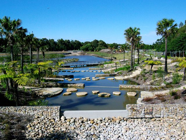 Stormwater Management Design : Sydney park is a perfect example of how stormwater