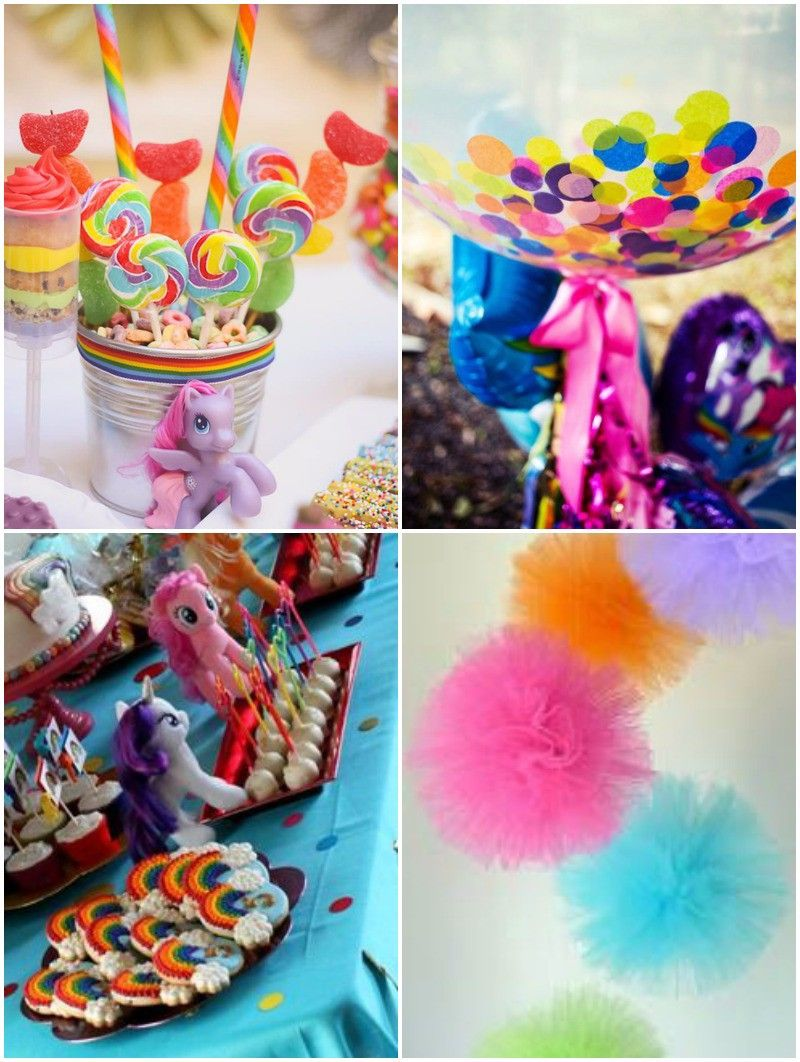 ideas para decorar cumpleanos de pequeno pony