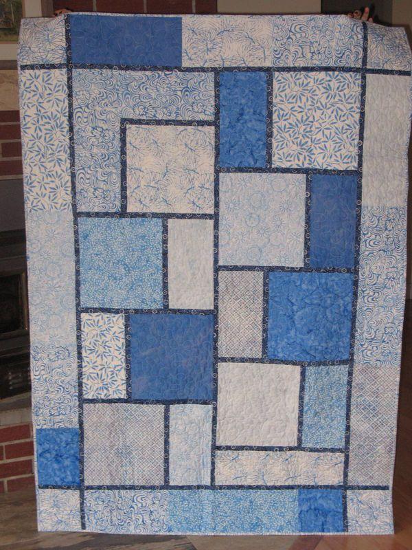 The Big Block Quilt | Big block quilts, Quilt block patterns free