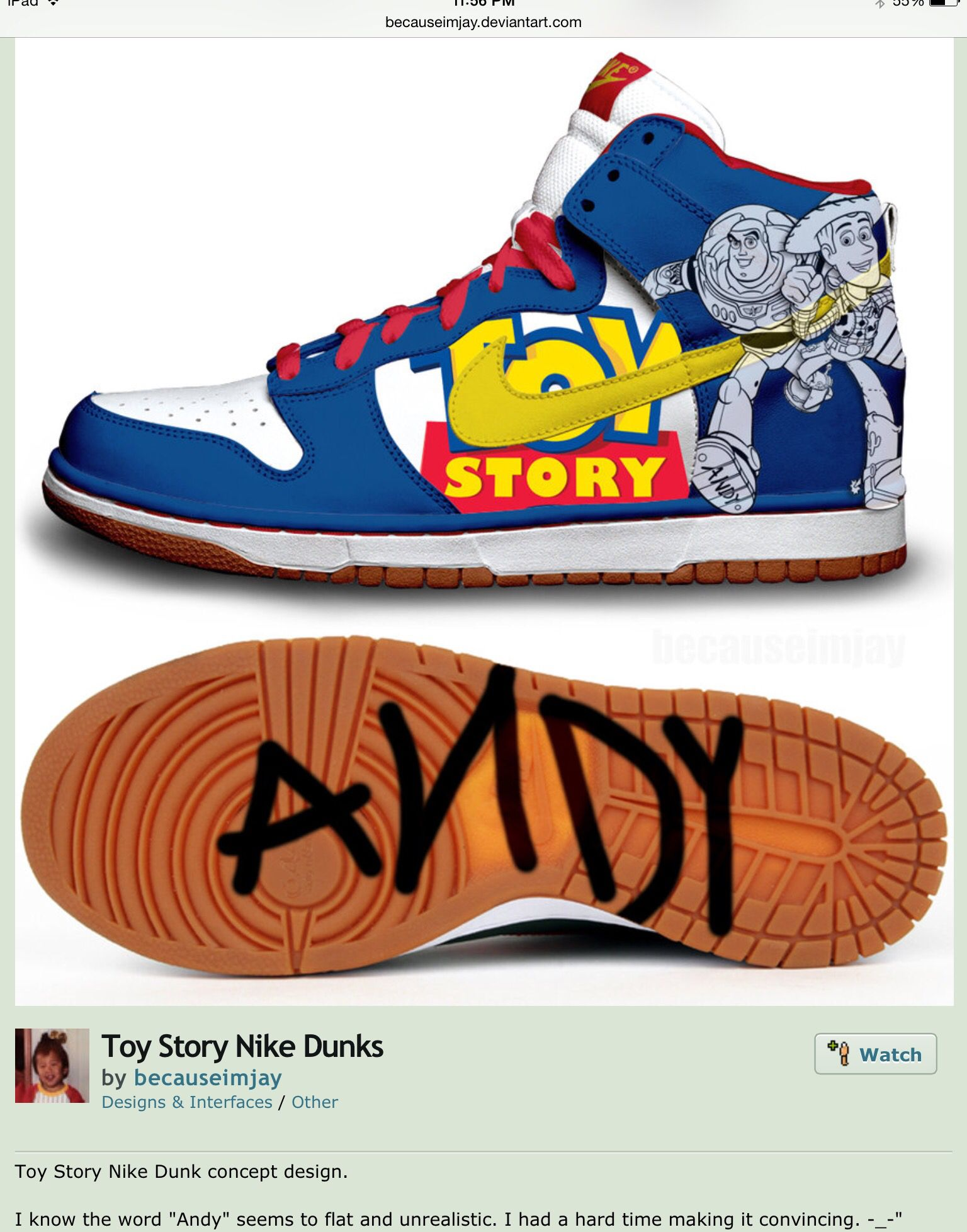 hot sale online 6a691 ca060 Nike Concept Shoes - Disney - Toy Story