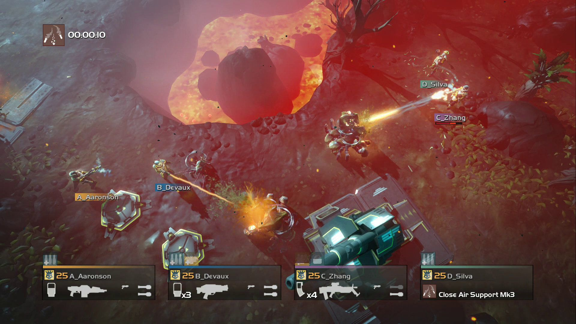 Helldivers PS4, PS3 Four person couch coop Video
