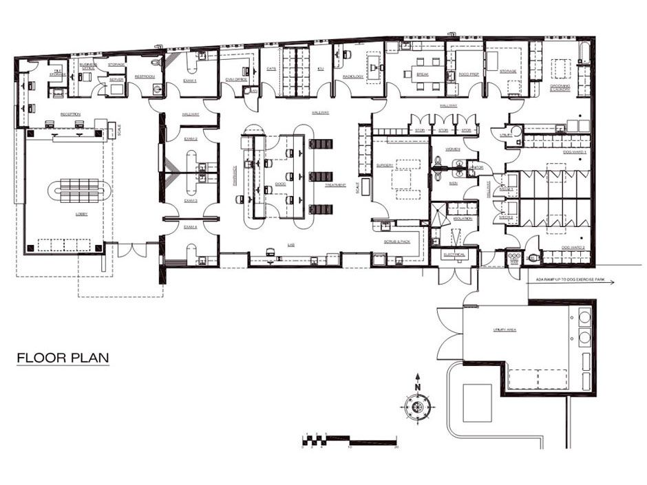 Floor Plan If I Could Design A Clinic Pinterest