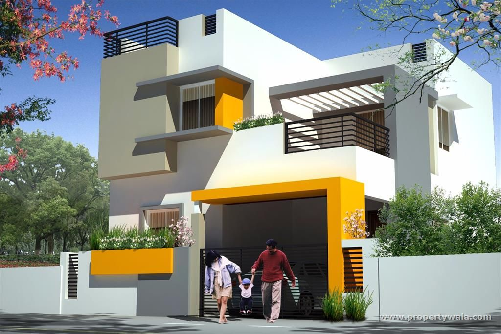 1024 684 residence for Best house designs in tamilnadu